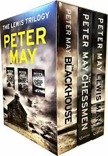Peter May Lewis Trilogy 3 Books Collection Box Gift Set The Blockhouse, Chessman
