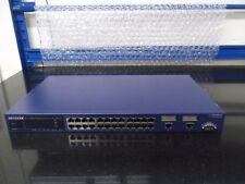 Netgear ProSafe 24 Port L2 Man Switch W  2 Gig FSM726S