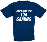Can't Hear You T-Shirt, Gamer Gifts for boys kids son teens birthday gifts ideas
