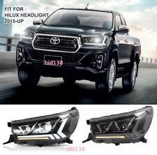 for 2015--2019 Toyota Hilux VIGO Hilux Revo LED Headlights Head Lamps