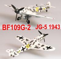 """Easy Model 1/72 BF-109G-2 VI. /JG5 1943 """"Yellow 12"""" Plastic Fighter Model #37254"""