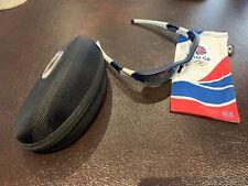 Oakley Flak Team GB Custom Sunglasses  Microfibre Bag and Oakley Ballistic Case