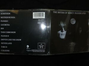 CD THE SISTERS OF MERCY / FLOODLAND /
