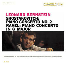 LEONARD BERNSTEIN Shostakovitch Piano Concerto Numbered Limited Edition 180g LP