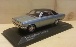 Opel Diplomat V8 Coupe silber 1965 - 1:43