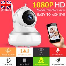 Wireless Smart IP Camera 1080P HD WiFi Baby Monitor Security Indoor Night Vision