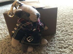 authentic Burberry Limited aedition Bear Keychain Charm
