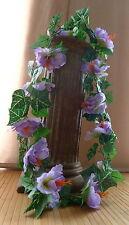 Hibiskusgirlande ca. 170 cm  Hibiskus Girlande  flieder