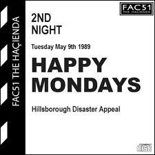 More details for happy mondays gig art manchester hacienda 89 cd hillsborough benefit & interview