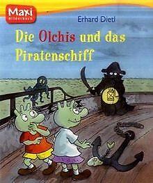 Die Olchis und das Piratenschiff von Dietl, Erhard   Buch   Zustand sehr gut