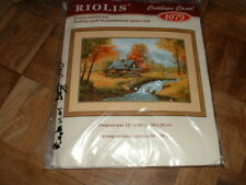 Riolis Counted Cross Stitch Kit #1079 Autumn View NEW & Sealed