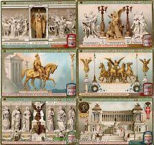 Chromo Liebig Sang. 1075 ITA Monumento a Vittorio Emanuele in Roma ANNO 1913