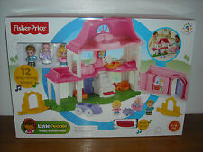 Brand New Fisher Price LITTLE PEOPLE HAPPY SOUNDS HOME W/12 SING-ALONG SONGS