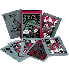 Bicycle Tragic Royalty Playing Cards Glowing Back 808 Glow Under Black Light