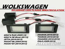 LEDS SMD ECLAIRAGE BLANC PLAQUE IMMATRICULATION VW POLO 6R 2009-2013 GTI TDI TSI