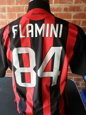 2008-2009 AC Milan FLAMINI 84 HOME FOOTBALL SHIRT ADULTO LARGE (22388)