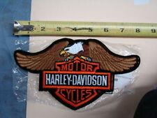 01155 Harley FXR winged eagle Bar & Shield patch jacket vest FXRT FXRP FXRS FXRD