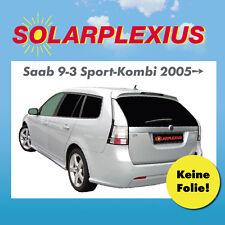 Autosonnenschutz Tönung Vorsatzscheiben k. Folie SAAB 9-3 Sport-Kombi Bj.ab 05