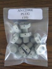 AN125908 Machine Plug Fitting Thread Size 7/16-20 Alt.to MS9015-04 - Lot of 10