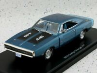 DODGE Charger R/T - 1970 - bluemetallic - Auto World 1:43