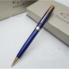 Perfect Parker Sonnet Series Blue Color Golden Clip 0.5mm Fine Ballpoint Pen