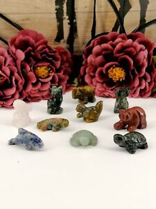 Multi Gemstone Animals