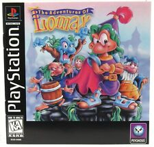 Playstation 1 PS1The Adventure Of Lomax 1996 Instruction Manual Only RARE
