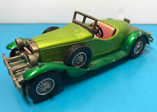Matchbox Y-14 1931 Stutz Bearcat, light and dark green 1974 version.