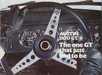 Austin 1300GT August 1968 Original UK Sales Brochure Pub. No. 2680