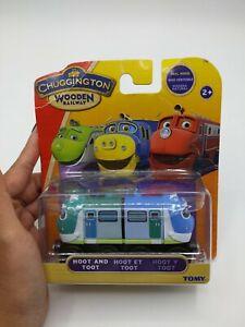 Chuggington Thomas Toot Hoot Magnetic Wooden Railway Train Brand New