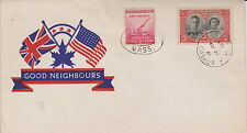 CANADA WWII PATRIOTIC COVER 1941 OTTAWA ONT - GOOD NEIGHBOURS