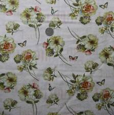Quilting Patchwork Sewing Fabric PINK FRENCH ROSES FRANCE Material 50x55cm FQ...