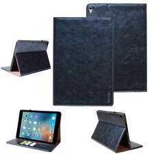 "Leder Schutzhülle Apple iPad Pro 12,9"" (groß) Tablet Tasche  Cover Case blau"