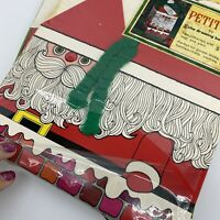 Pettitote Vintage Gift Boxes Set Of 2 Open Package Santa Christmas