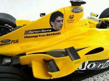 """Jordan EJ14 Heidfeld / Pantano """"In Memory of Ayrton Senna Decals"""" 2004 1/18"""