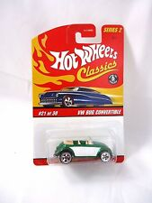 Hot Wheels Classics Series 2 Spectraflame green VW Bug Convertible #21/30