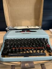 More details for olivetti lettera 22 portable typewriter with original case