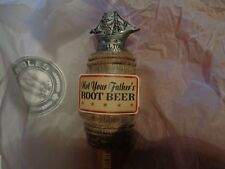 NOT YOUR FATHERS ROOT BEER DRAFT TAP KNOB / HANDLE 13 IN NEW! SMALL TOWN BREWERY