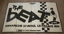 Affiche concert / groupe Ska / The Beat / le Palace / 80's  / Rosebud présente