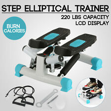 Mini Stepper Machine Air Stair Climber Step With Monitor Pedal Gym Exercise