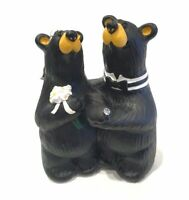 Big Sky Carvers Bear Foots Wedding Couple Figurine By Jeff Fleming