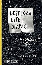 Destroza este diario en cualquier sitio Spanish Edition By Keri Smith Paperback