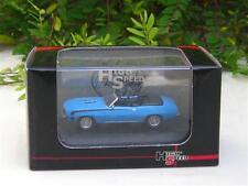 High Speed 1/87 Diecast Model Car Camaro SS396 1969 Blue Classics Car (5.5cm)