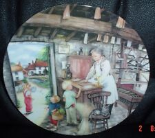 Royal Doulton Collectors Plate THE CANDLE MAKER