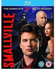 SMALLVILLE - Series 6 (2008) Complete All Episode Sixth Season (4-Disc) Blu-ray