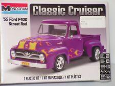 MONOGRAM  #85-0880 1/24 55 Ford F-100 STREET ROD CLASSIC CRUISER FS