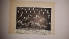 Michigan State Spartans University 1910 Football Team Picture RARE!