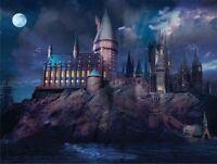 "Harry Potter Hogwarts Castle School Jigsaw Puzzle 1000 Pieces 27""X20"" Piece NEW"