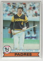 1979 Topps Baseball San Diego Padres Team Set