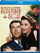 Remember the Night 1940 (Blu-ray) Barbara Stanwyck, Fred MacMurray - New!